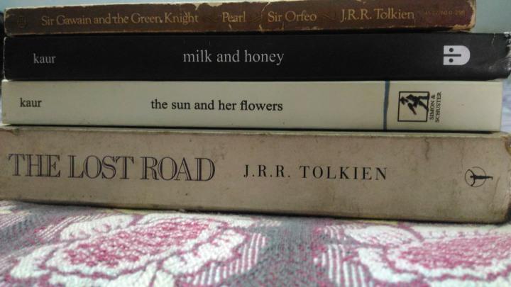 Books, books and morebooks.