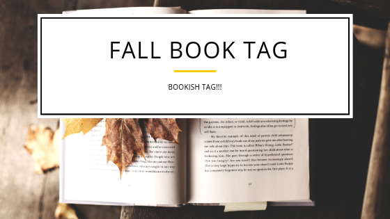 Fall Book Tag