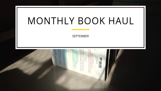 Book Haul for September