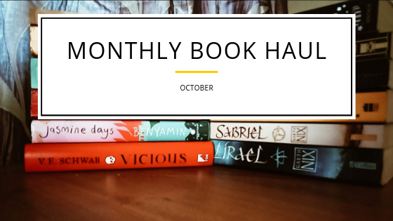 Book Haul –October