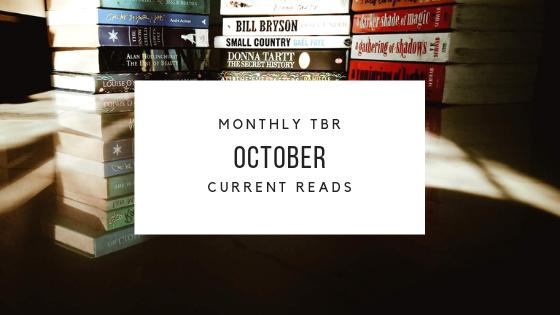October TBR & CurrentReads