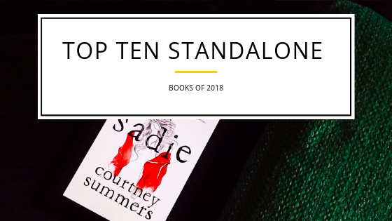 Top 10 Standalone Books of 2018