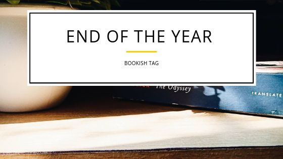 End of the Year Book Tag| 2018