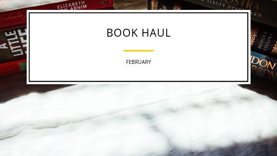 Book Haul –February