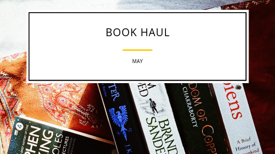 Book Haul – May