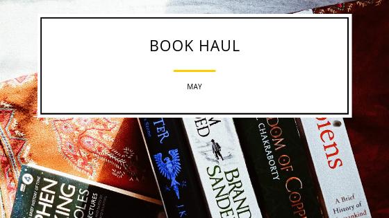 Book Haul –May