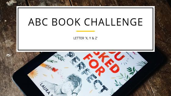 ABC Book Challenge 'X, Y &Z'