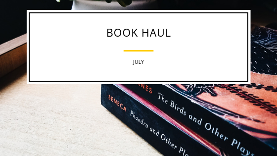 Book Haul – July
