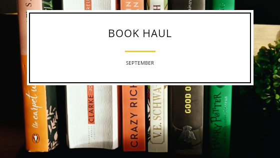 Book Haul – September