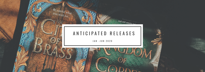 My Most Anticipated Books of 2020 (Jan-Jun)