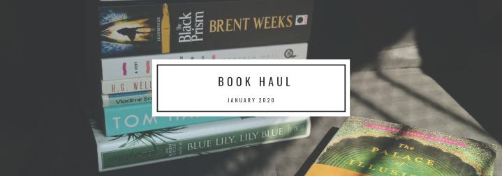 Book Haul- January
