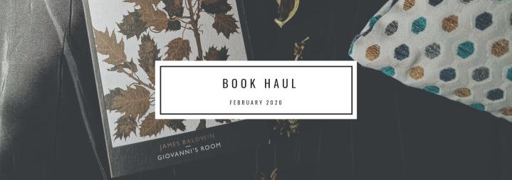 Book Haul- February