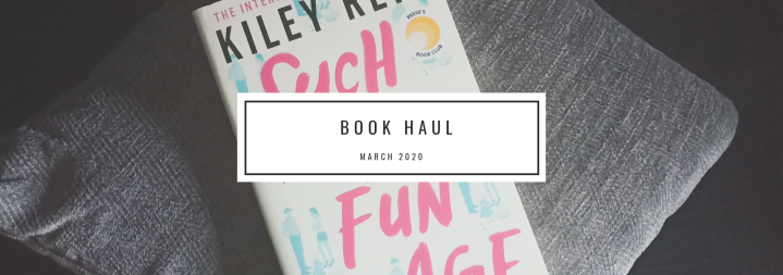 Book Haul: March