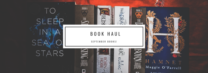 Book Haul : September