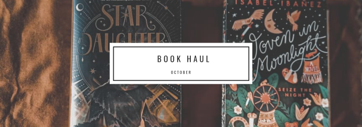 Book Haul : October