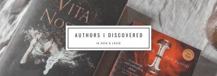 Authors I Discovered in 2020 & Loved