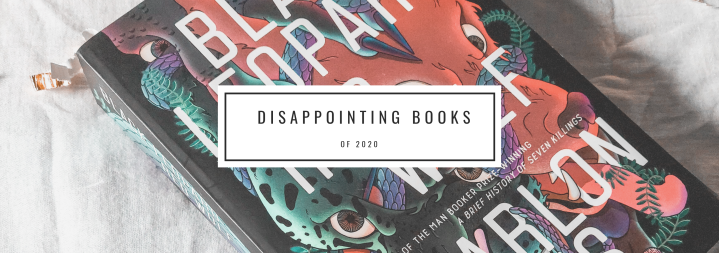 Disappointing Books of 2020