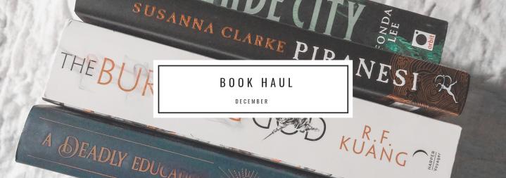 Book Haul: December